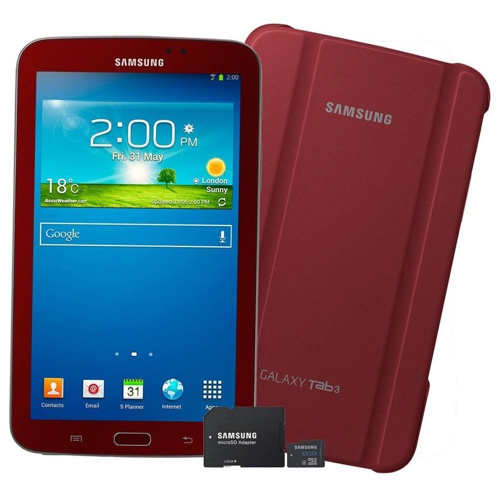 Samsung Galaxy Tab 3 - 7.0 Garnet Red Edition